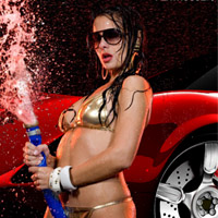 Hot Car Wash Contest